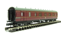 Stanier Brake First LMS Crimson Lake