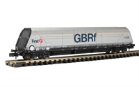 102 Tonne HYA Bulk Coal Hopper Wagon GBRf 'Coal'.
