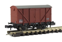 12 Ton BR Planked Ventilated Van BR Bauxite (Late)