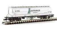 100 Tonne JPA Cement Wagon 'VTG Lafarge Cement' Silver
