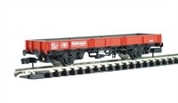 SPA Wagon Steel Coil Wagon in Railfreight red