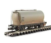 PCA Metalair Bulk Powder Wagon Grey - Weathered.