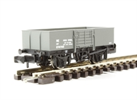 13 Ton High Sided Steel Open Wagon (Smooth Sides/Wood Door) LNER Grey