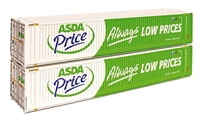 45ft Containers 'Asda' (x2)