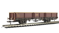 31 tonne OCA dropside open wagon in EWS livery - weathered