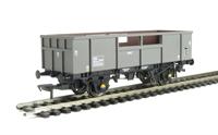 34 tonne ZKA Limpet open ballast wagon in Departmental grey