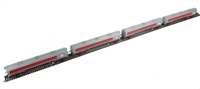 Pack of 4 100 ton TEA bogie tank wagon in Esso grey livery