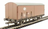 35 Ton VBB box van with sliding door in BR bauxite - weathered