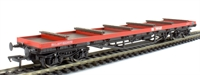 80 Tonne glw BDA bogie bolster wagon in Railfreight livery