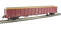 MBA Megabox high-sided bogie box wagon in EWS livery (with buffers)