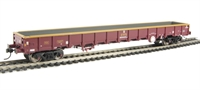 MOA Monsterbox low-sided bogie box wagon in EWS livery