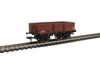 13 Ton high sided steel open wagon with chain pockets in BR bauxite (early)