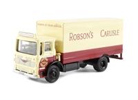 Albion Ergomatic 2-axle boxvan 'Robson's of Carlisle'