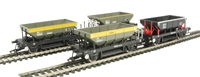 Dogfish ballast wagons in sectorisation engineers liveries (3 Dutch and 1 Loadhaul) - Pack of 4