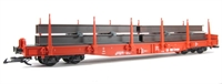 DB Cargo Flatcar w. TT beams