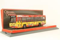 "Leyland Lynx - ""Yorkshire Bus Group - McDonalds"" - Pre-owned - missing one base screw from case"