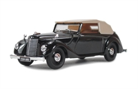 Armstrong Siddeley Hurricane Closed in black