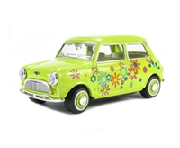Mini Car Lime Floral.
