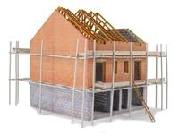 Modern Town house under construction