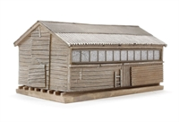 Pendon Grotty Large Shed (80 x 47 x 36mm)