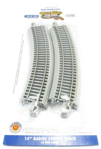 15in.Radius Curved Track (4/Card)