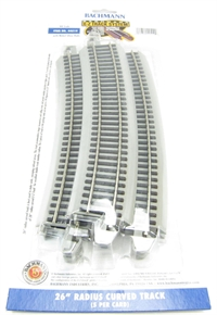 26in.Radius Curved Track (5/Card)
