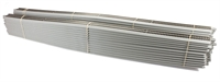 "Box of 25 lengths of 36"" E-Z pre-ballasted straight track"