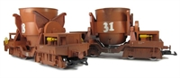2x Molten Metal wagons. Epoch IV