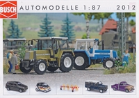 Busch Catalogue Vehicles 2012 HO scale