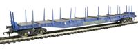 Cargowaggon IPE/IGE557 bogie flat 4747 028 in weathered Cargowaggon livery