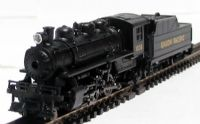 American 2-6-2 Prairie & tender in Union Pacific livery