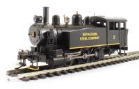 """Porter 0-6-0 Side Tank """"Bethlehem Steel"""" #2 (DCC On Board)"""