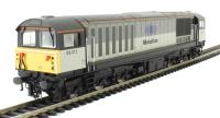 Class 58 58012 in Mainline triple grey