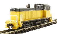 EMD NW-2 Switcher Diesel Locomotive Painted, Yellow & Black (DCC On Board)