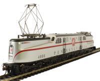 GG1 Electric PRR Silver Red Stripe #4866