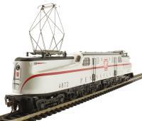 GG1 Electric PRR Silver Red Stripe #4872 (DCC Sound Value)