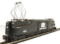 GG1 Electric Penn Central Black #4853  (DCC Sound Value)