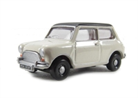 Austin Mini - Old English White/Black