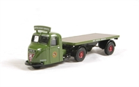 Scammell Scarab Flatbed Trailer in BRS Parcels livery