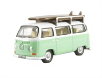 "VW Bus/Roofrack/Surfboards ""Birch Green/White"""