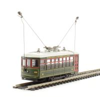 "Single Truck tram car ""Birney Safe Sacramento"". DCC on board"