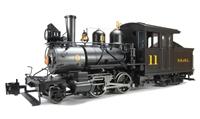 Baldwin 2-4-4 Forney Locomotive Sandy River & Rangeley Lake - Inside Frame