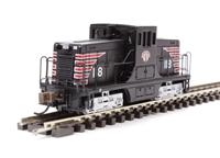 """GE 44 Ton Diesel Switcher Locomotive """"Boston & Maine"""" (Minuteman)"""