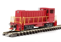 GE 70 Ton Diesel - Red Unlettered.