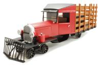 Rail Truck with accessories - DCC Ready. Painted, Unlettered (Red & Black)