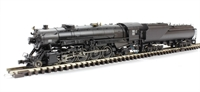 USRA 4-8-2 Heavy Mountain Locomotive Painted, Unlettered With Vandy Tender - (Standard Headlight)
