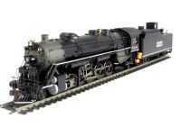 American USRA 2-10-2 steam loco in Kansas City (DCC on board)