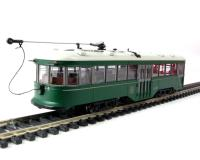 "American Peter Witt street car with full interior & lights in ""Brooklyn & Queens Transit"" livery (DCC on board)"