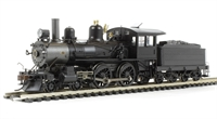 Richmond 4-4-0 american. Painted, Unlettered with wood cab
