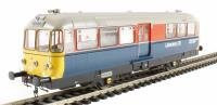 "Railbus W&M Laboratory 20 ""Elliot""  in RTC red & blue (Modelzone Exclusive)"